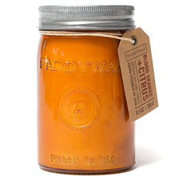 Paddywax Relish Jar Candle - Blood Orange + Citrus - 9.5 oz.