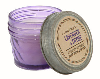 Paddywax Relish Jar Candle - Lavender + Thyme - 3 oz.