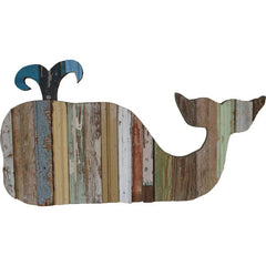 Reclaimed Wood Whale
