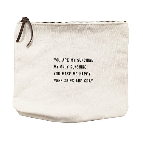 "Sugarboo Canvas Bag - ""You Are My Sunshine"""