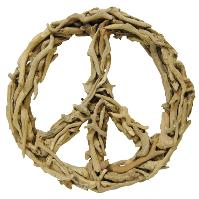 Sugarboo Designs - Driftwood Peace Sign