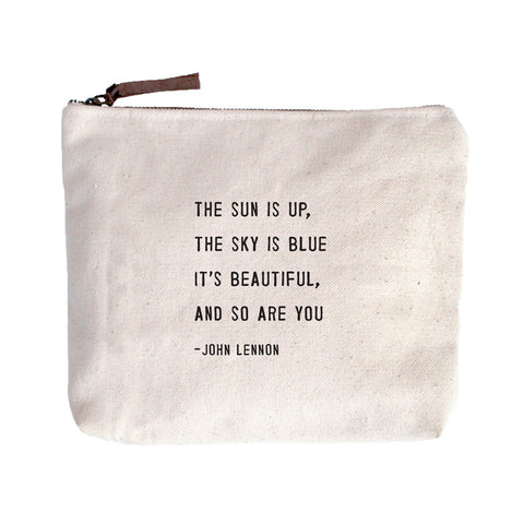 "Sugarboo Designs - ""The Sun Is Up"" Canvas Bag"