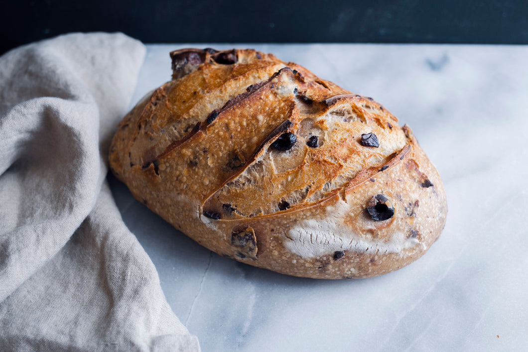 Kalamata Olive Sourdough Batard