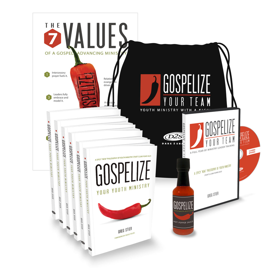 GOSPELIZE YOUR TEAM...A Full Year of Ministry Leader Training