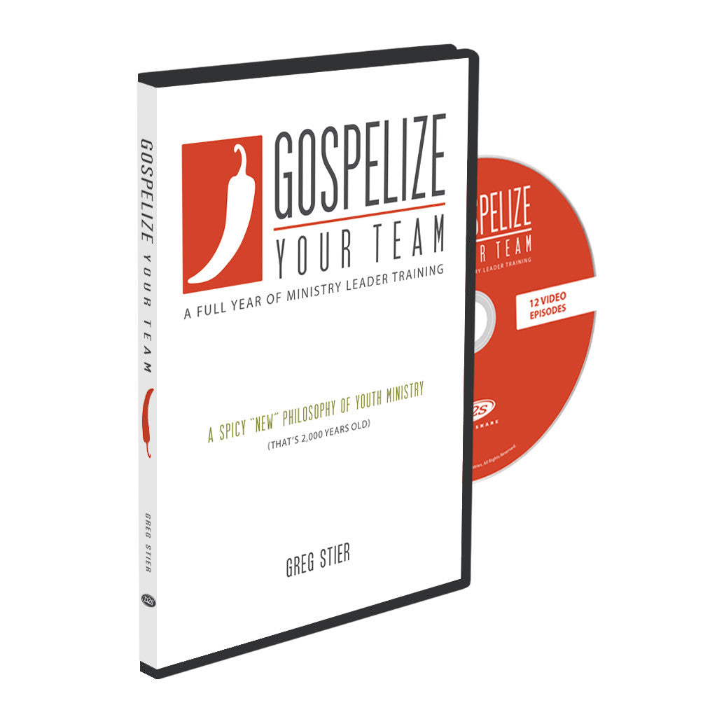 Gospelize. Gospelize Your Team Video. youth curriculum. youth bible study. youth ministry curriculum. youth ministry video