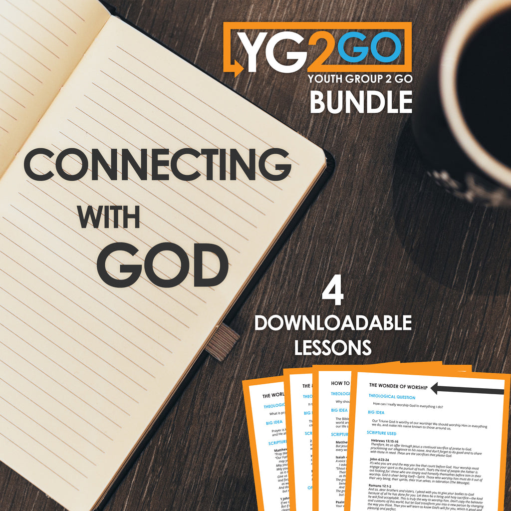 Connecting with God Youth Group 2 Go Bundle