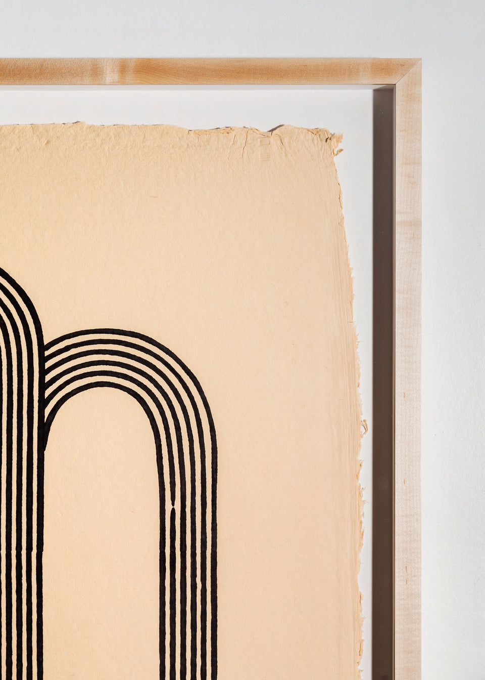 Arches | Woodblock Print