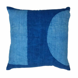 DOT DASH PILLOW | INDIGO