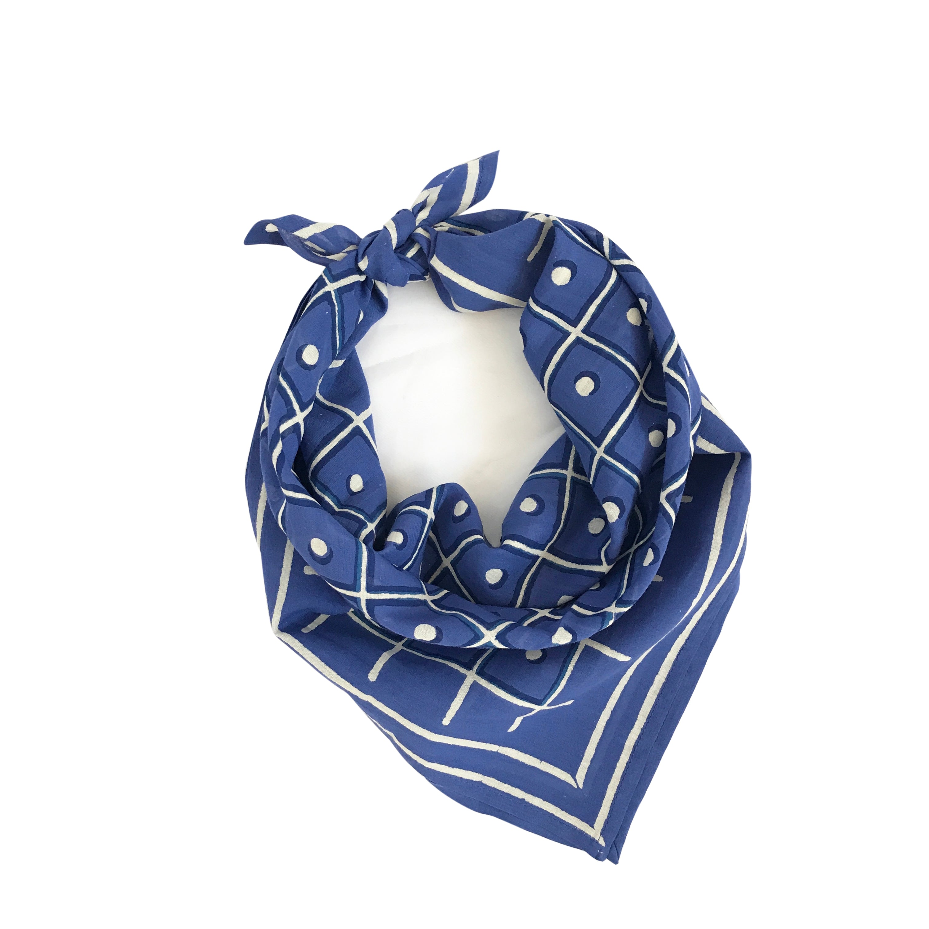 HARRIET BANDANA | BLUE