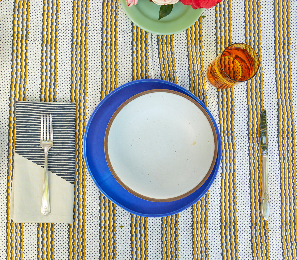 Odette | Honey Tablecloth