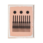 PIANO | WOODBLOCK PRINT