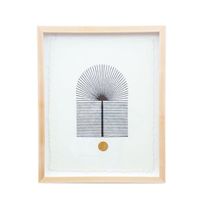 PALM | WOODBLOCK PRINT