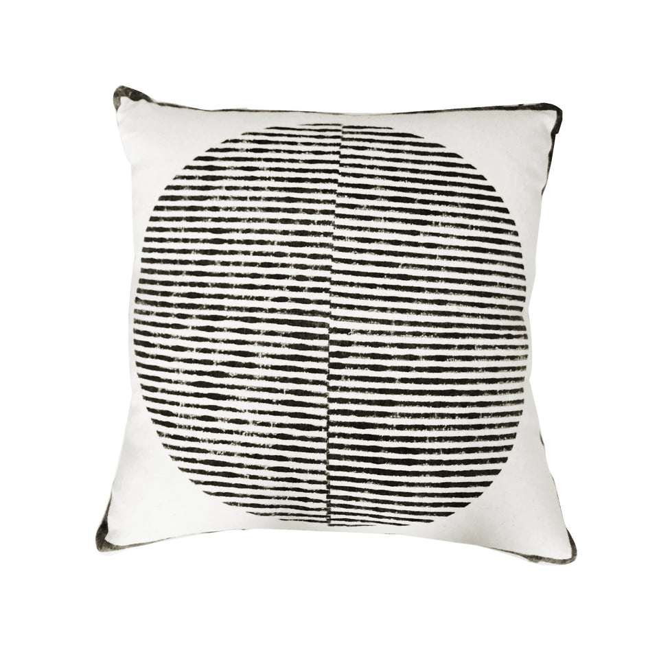 Sunrise Pillow | Black