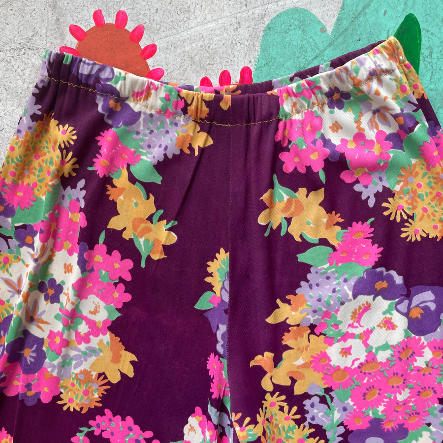1970s Floral Palazzos