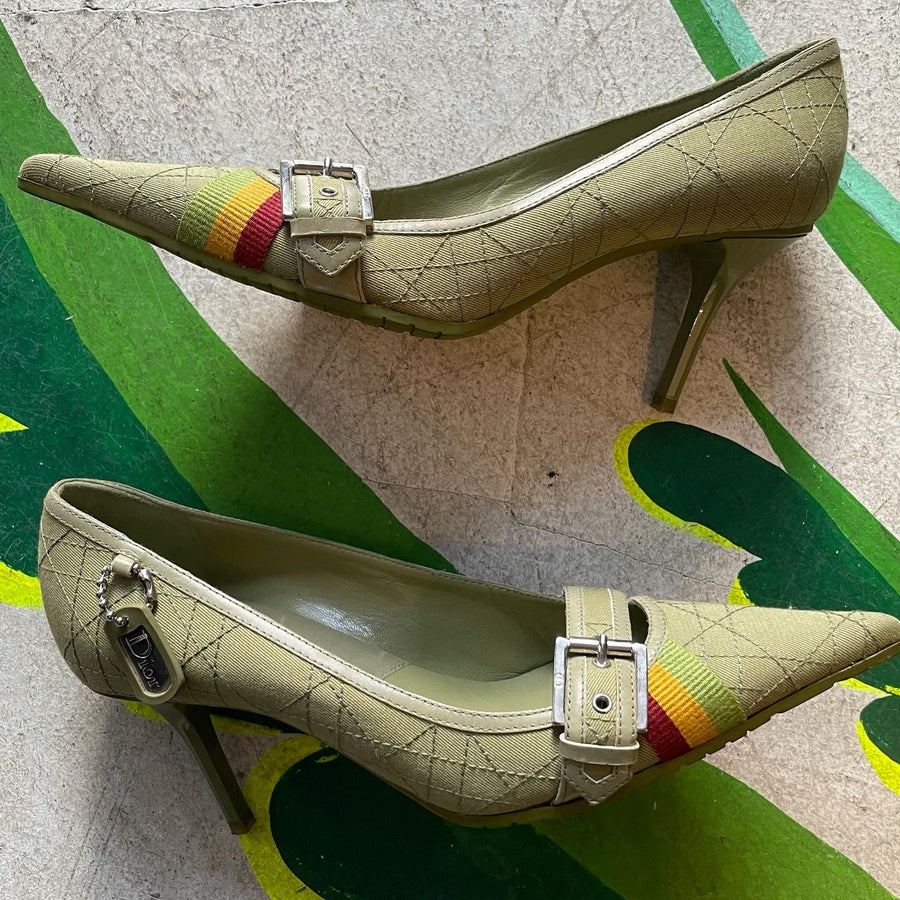 2004 Dior Rasta Collection Pumps