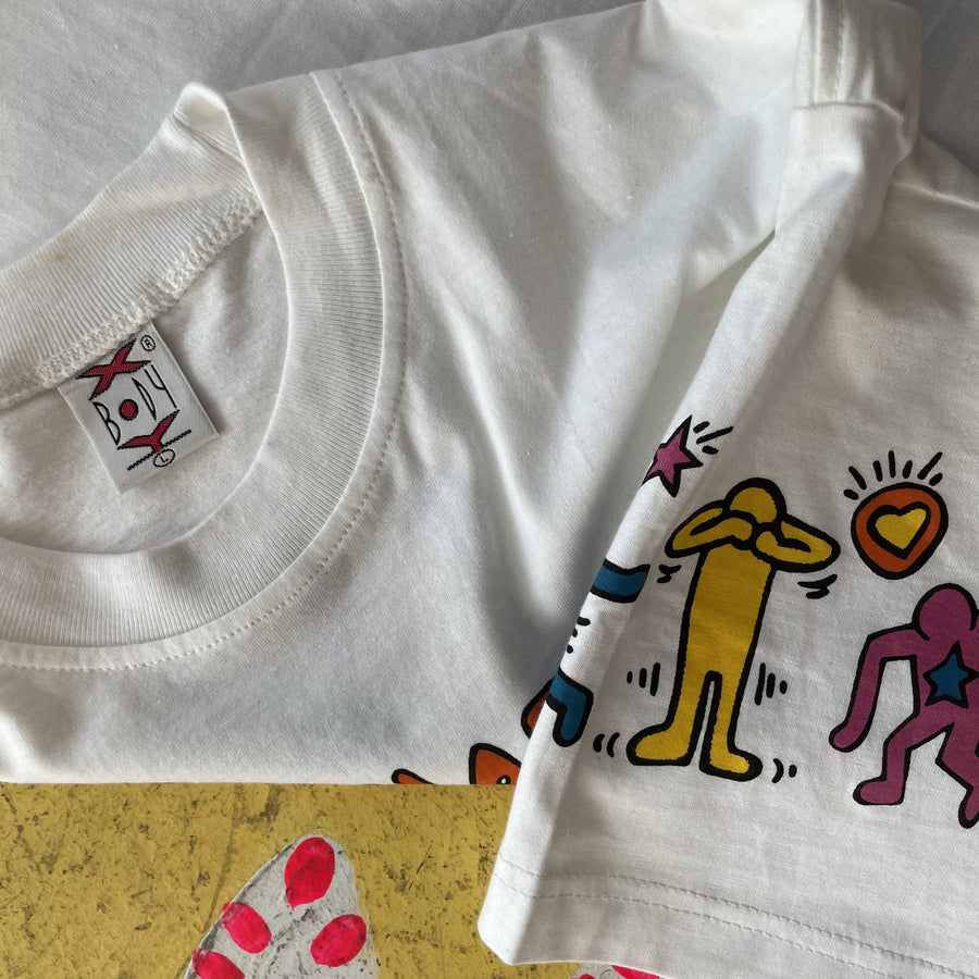 Keith Haring 1990s All-over Graphic Tshirt