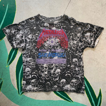"1990s ""Saxy Metallica"" All Over Print"