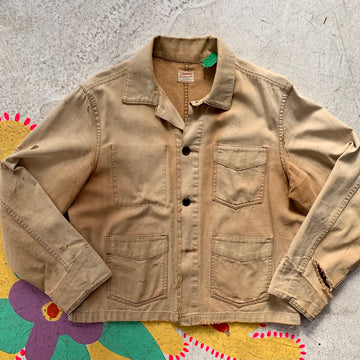 1950s Finesilver canvas Field Jacket