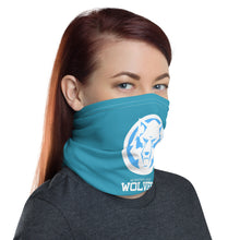 Load image into Gallery viewer, Wolves Blue Neck Gaiter