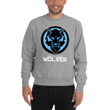 Load image into Gallery viewer, Champion Black & Blue Wolves Sweatshirt