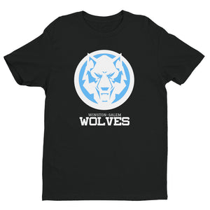 White Wolf Blue Colorway Short Sleeve T-shirt