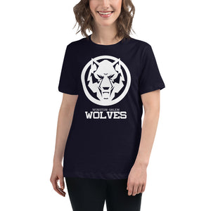 White Wolf Women's Relaxed T-Shirt