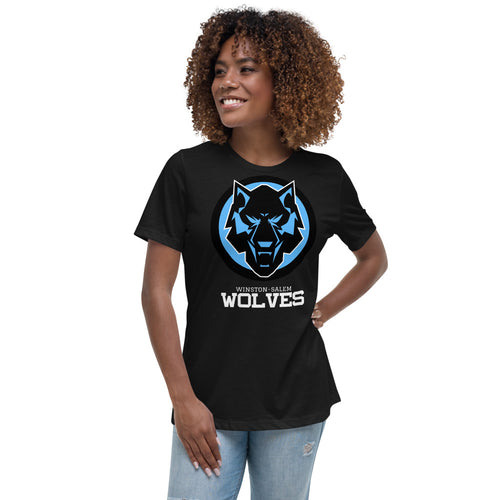 Black & Blue Women's Relaxed T-Shirt