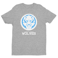 Load image into Gallery viewer, White Wolf Blue Colorway Short Sleeve T-shirt