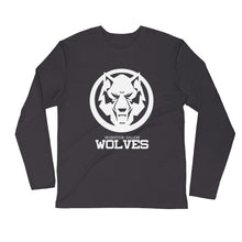 Load image into Gallery viewer, White Wolf Long Sleeve Fitted Crew