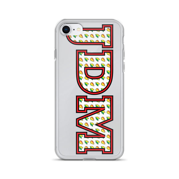 JDM Pattern Color iPhone Case -