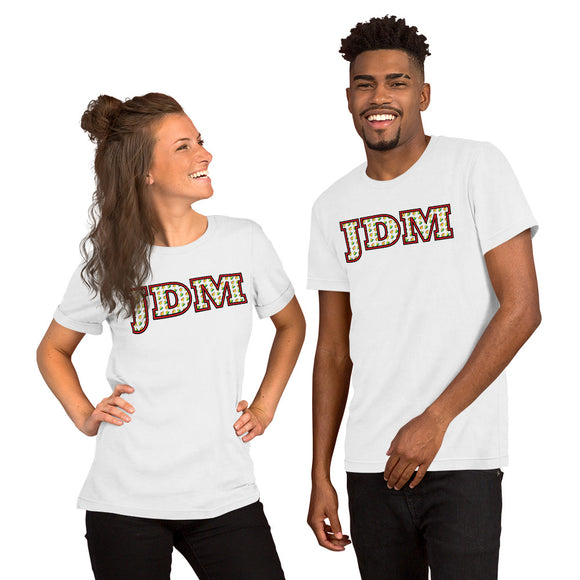 JDM Pattern Design Color - Unisex T-Shirt - PREMIUM QUALITY