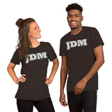 JDM Pattern Design Grey Tone - Unisex T-Shirt - PREMIUM QUALITY