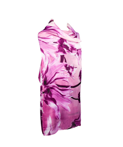 Lily Imitated Silk Fabric Summer Cover up Wrap Shawl Sarongs for Women