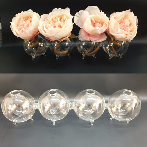 Bubble Bud Vase x 4 bubbles