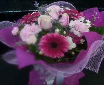 Feminine Pinks Bouquet