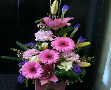 Pink Gerbera Arrangement