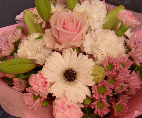 Gentle Pink and Cream Bouquet