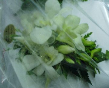 Singapore Orchid Corsage with Diamantes