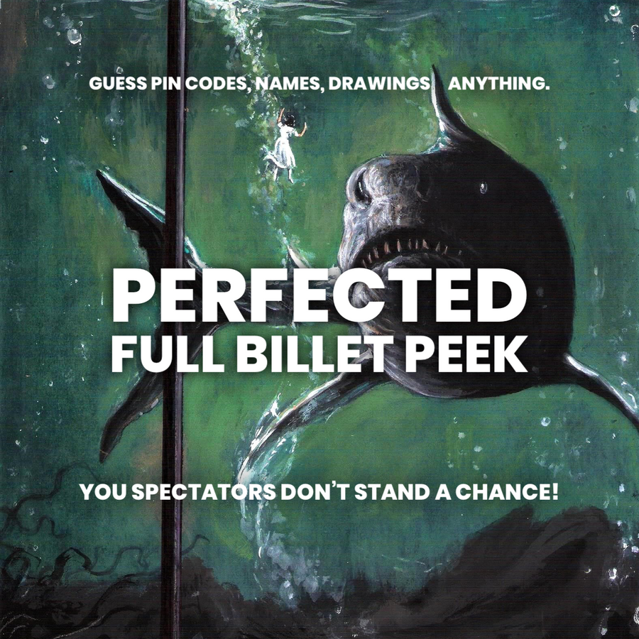 Perfected Full Billet Peek by Jose Prager presented by Lewis Le Val (V –  e-Mentalism