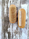Oval Wood Nail Brush
