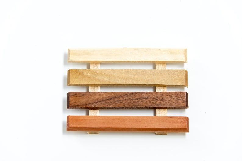 Wood Soap Dishes