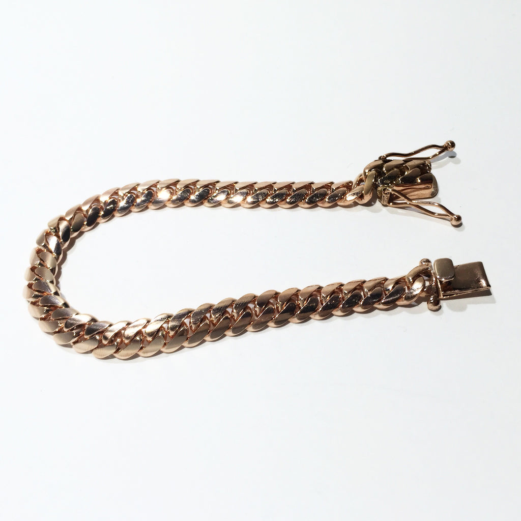 "Miami Cuban Link Bracelet 8.5"" 9.5mm"