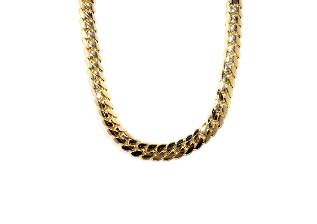 "Miami Cuban Link Chain 30"" 8mm"