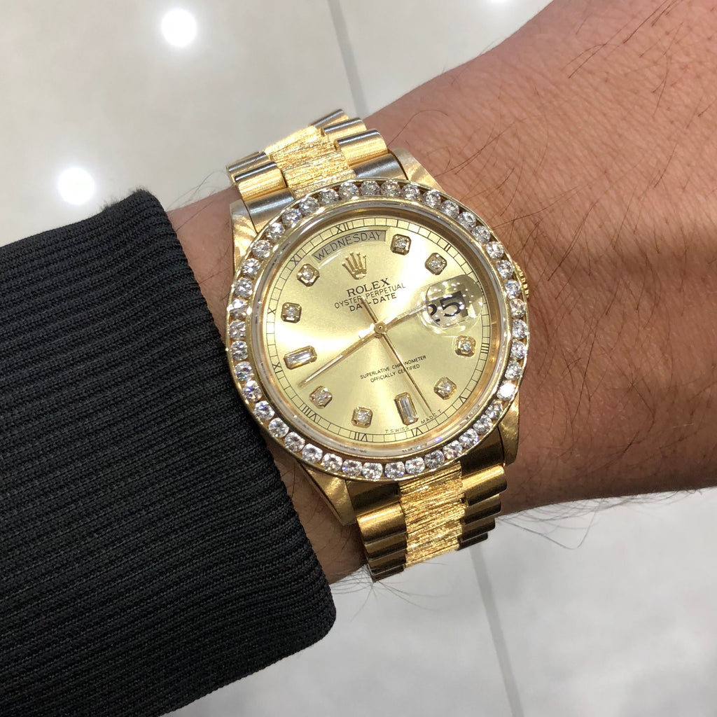 Rolex Day Date President Watch Bark Special Edition