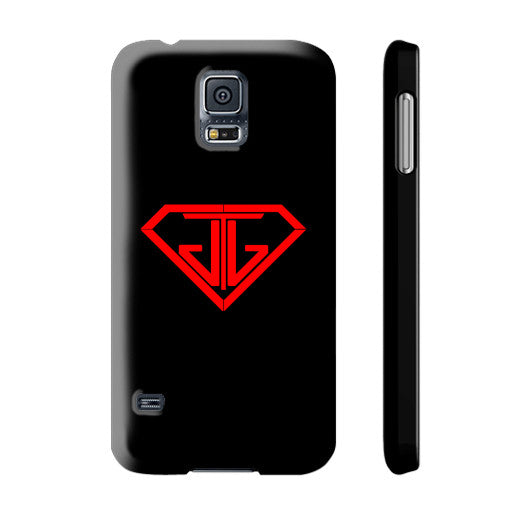 JTJ Blood Red Logo Phone Case Slim Galaxy s5 - Jain The Jeweler
