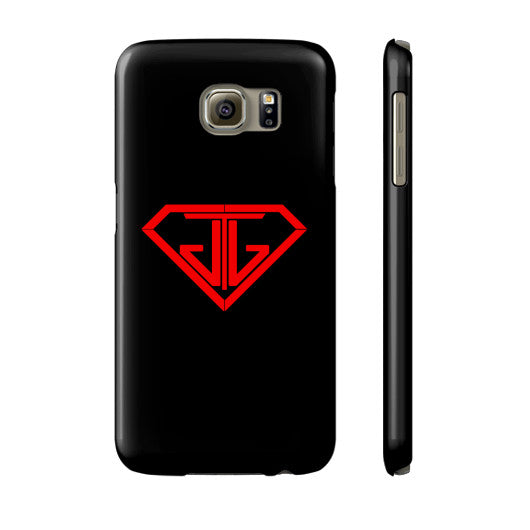 JTJ Blood Red Logo Phone Case Slim Galaxy s6 - Jain The Jeweler