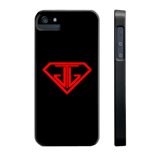 JTJ Blood Red Logo Phone Case Slim iPhone 5/5s - Jain The Jeweler