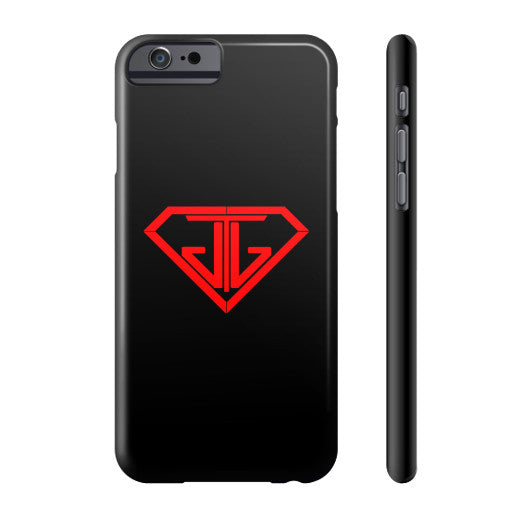 JTJ Blood Red Logo Phone Case Slim iPhone 6 - Jain The Jeweler