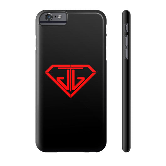JTJ Blood Red Logo Phone Case Slim iPhone 6 Plus - Jain The Jeweler