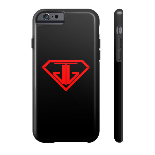JTJ Blood Red Logo Phone Case Tough iPhone 6 - Jain The Jeweler